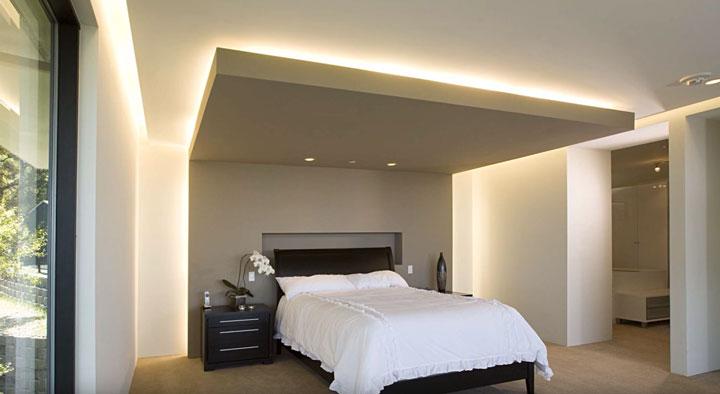 освещение над кроватью как правильно