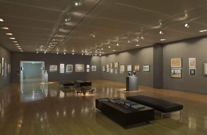 освещение картинной галереи