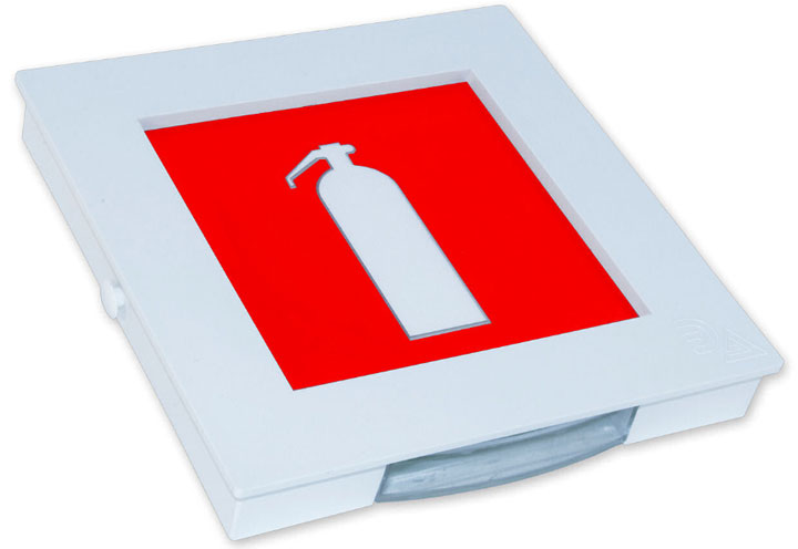 пиктограмма мест хранения огнетушителей