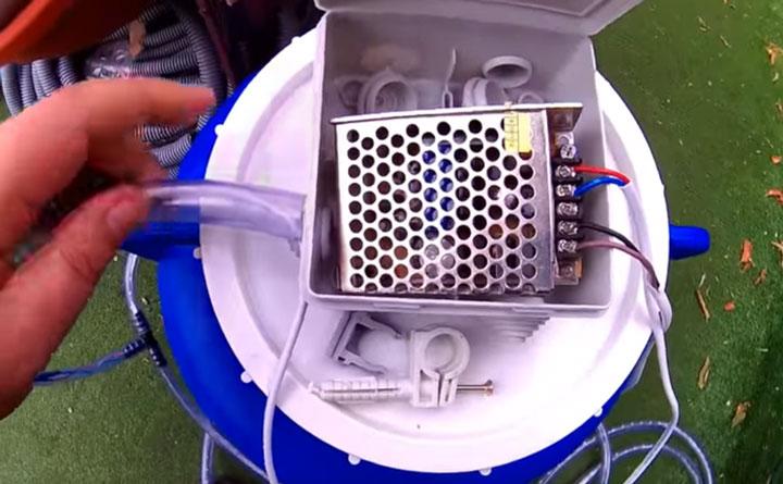 блок питания для светодиодной ленты в бассейне