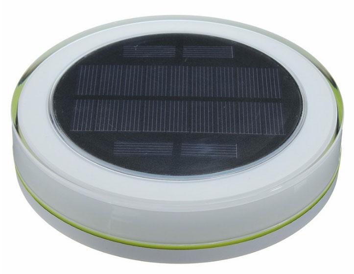 плавающий светильник с солнечной панелью для подзарядки