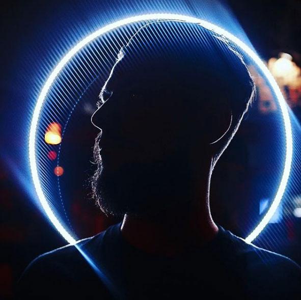 светодиодное сэлфи кольцо