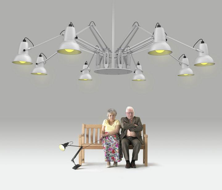 настольная лампа для направленного освещения типы освещения
