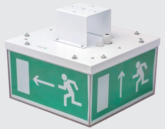 знаки аварийного выхода с подсветкой