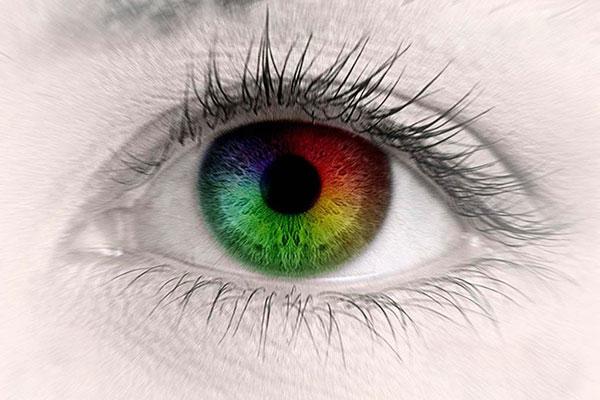 как глаза воспринимают цвета