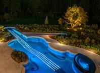 как сделать светодиодное освещение в бассейне