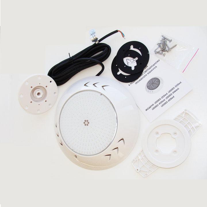 подводный светильник для басейна AquaViva как установить
