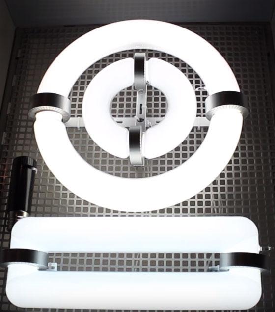 кольцеобразная и прямоугольная индукционная лампа недостатки и преимущества
