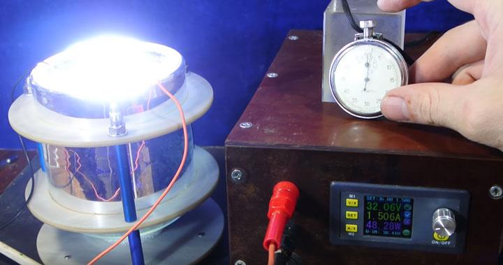 измерение КПД светодиодной матрицы своими руками