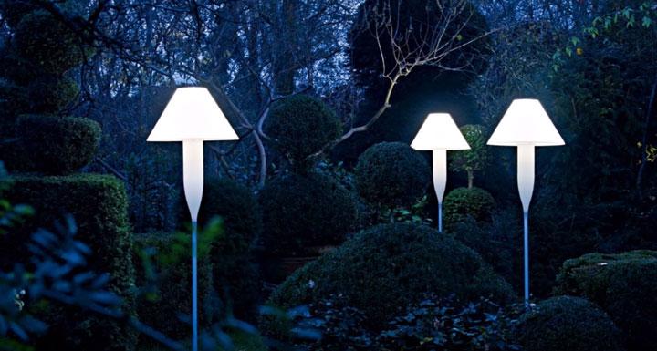 светильники со встроенными в корпус светодиодами