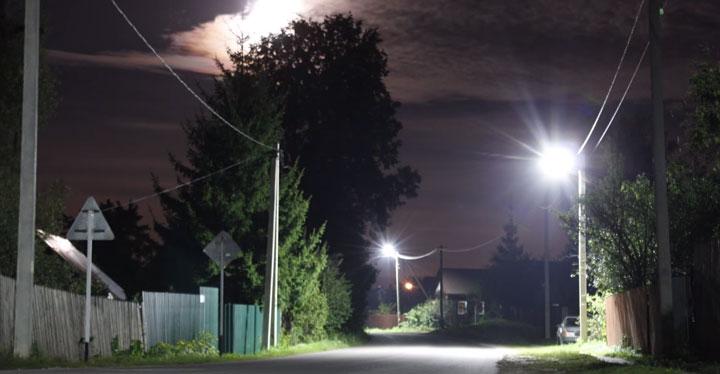 уличное освещение индукционными лампами