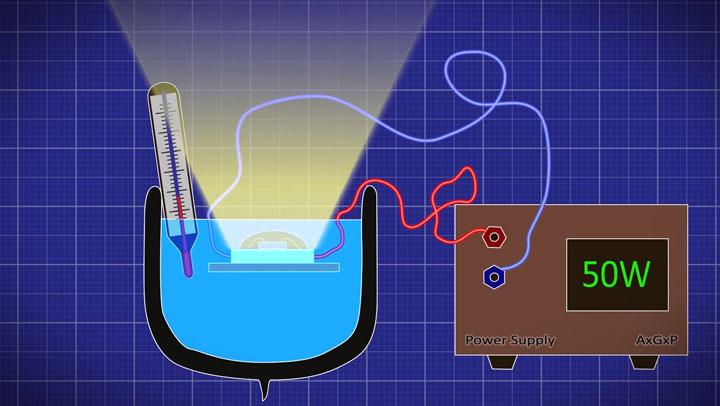 как замерить КПД светодиода в домашних условиях своими руками