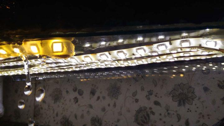 подсветка аквариума светодиодной лентой как рассчитать мощность