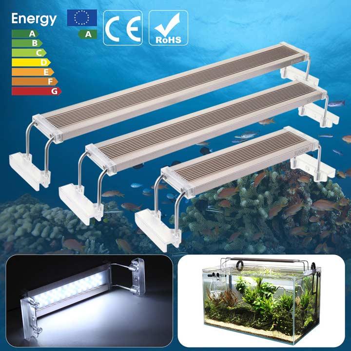 преимущества светодиодных ламп освещения для аквариума