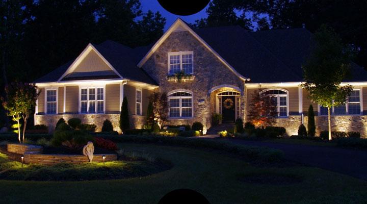 освещение уличное загородного дома и дачи