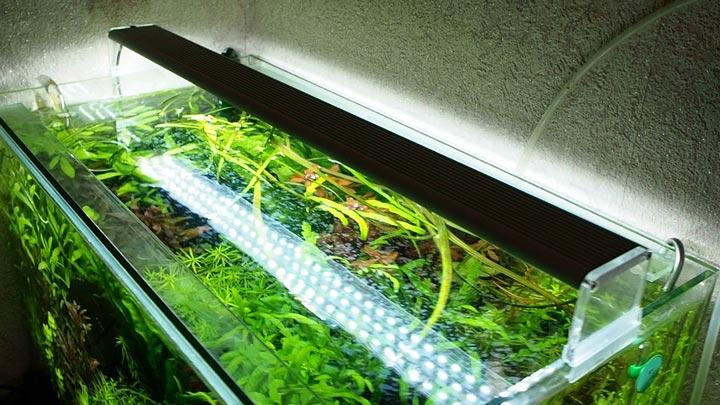 лампа чихирос для освещения растений аквариума