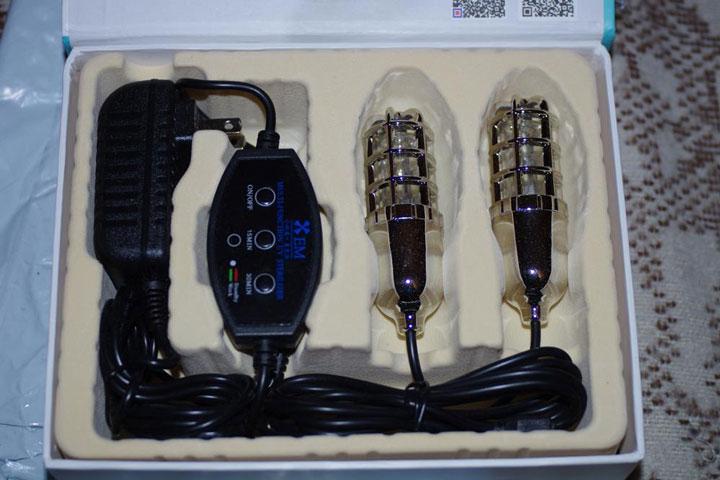 комплект ультрафиолетовой сушилки для обуви