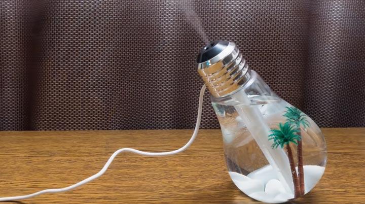 пар и дымок для лампочки ультрафиолетового увлажнителя