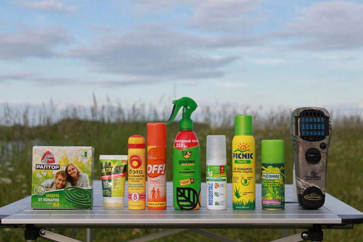 методы борьбы с комарами на даче