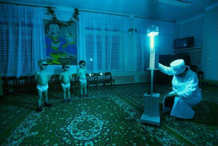 излучение ультрафиолета от кварцевых ламп