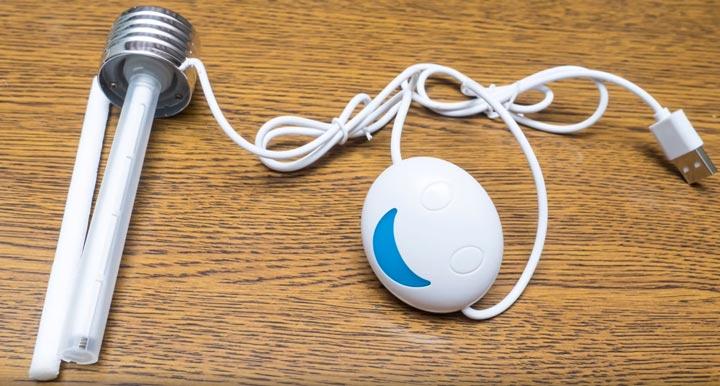 лампочка увлажнитель в разобранном виде