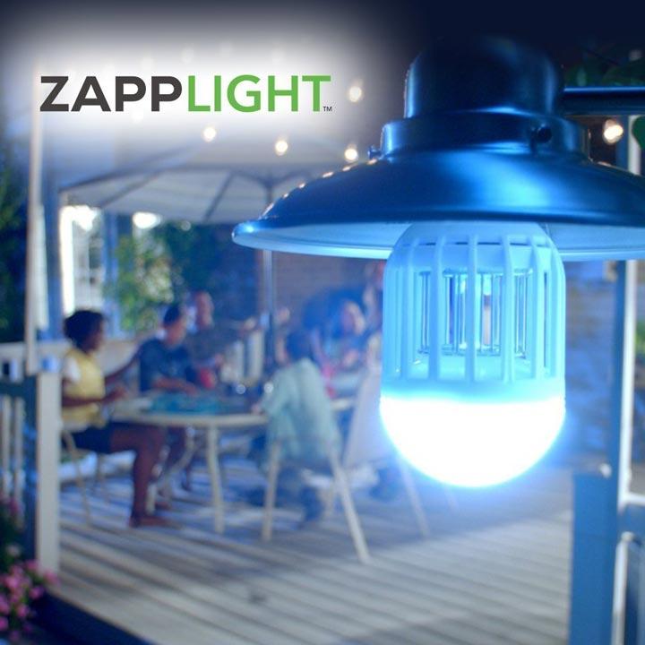 антимоскитная лампа Zapplight насколько эффективна