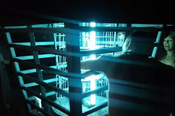 гигантская лампа для отпугивания комаров и летучих мышей мух бабочек