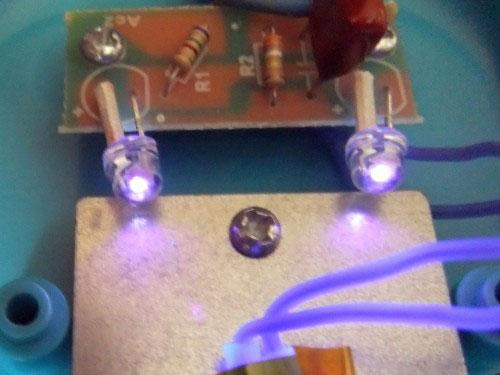 почему ультрафиолетовые сушилки на светодиодах не работают