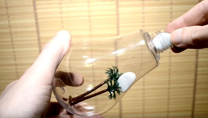 как собрать лампочку увлажнитель