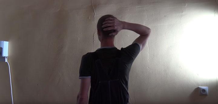 что показывает и высвечивает лампа маляра на стене