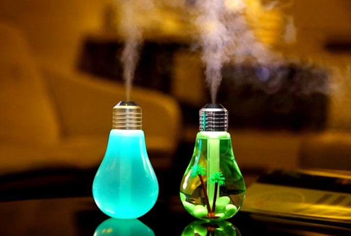 колба для увлажнителя лампочки прозрачная и матовая