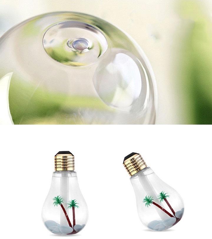 неровности колбы у ночника лампочки для увлажнения воздуха