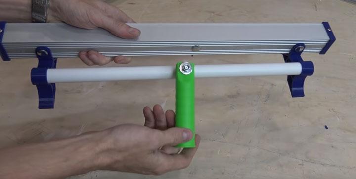ручка от валика на малярной лампе для штанги