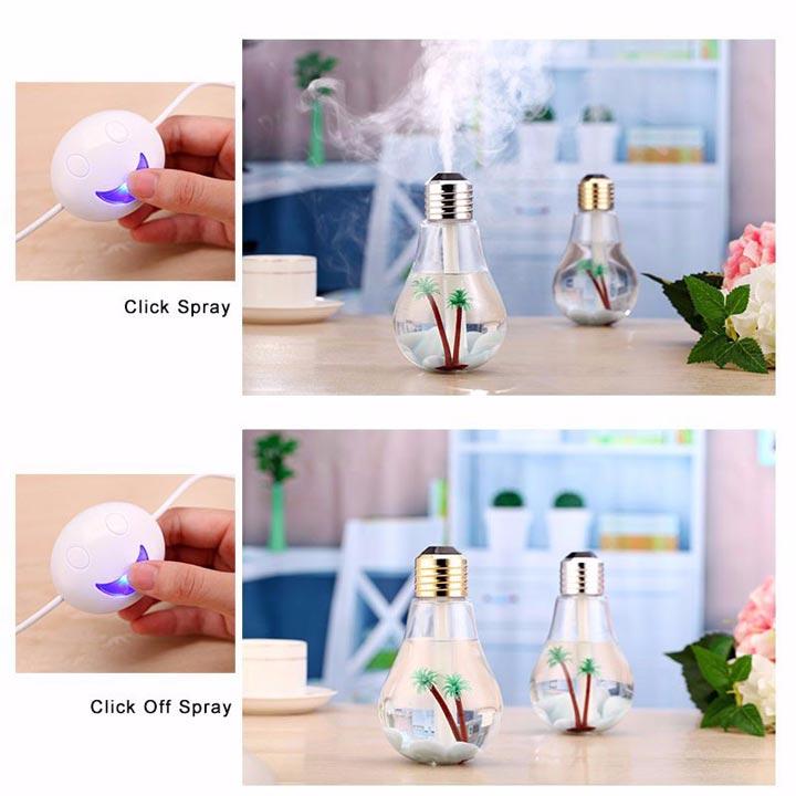 инструкция по включения и отключению лампочки увлажнителя