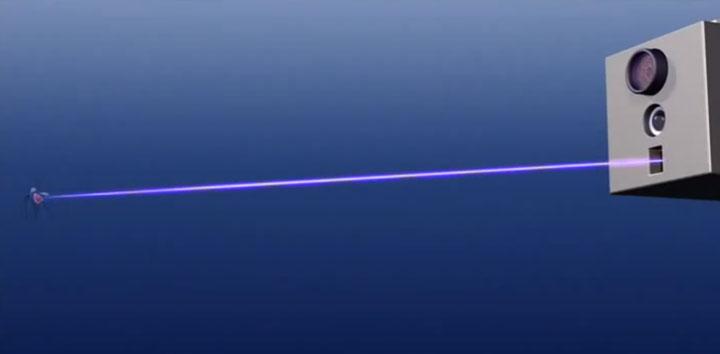 антимоскитная лазерная пушка