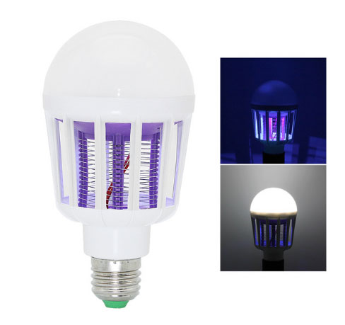 два в одном инсектицидная и светодиодная лампа