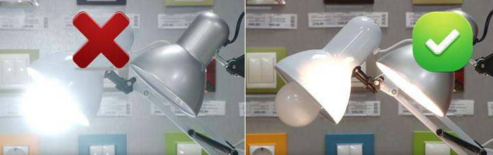 как правильно выбрать настольную лампу для школьника или студента