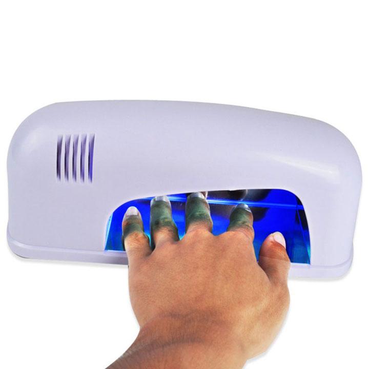 самая недорогая УФ лампа 9Вт для сушки лака геля