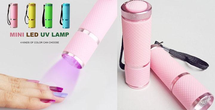 мини модели ламп для сушки гель лаков