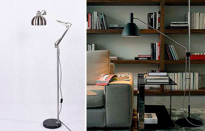 настольная лампа с установкой на полу а не на столе что лучше для школьника