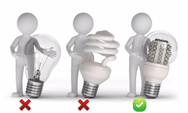 какой тип лампочки выбрать для настольного светильника школьнику