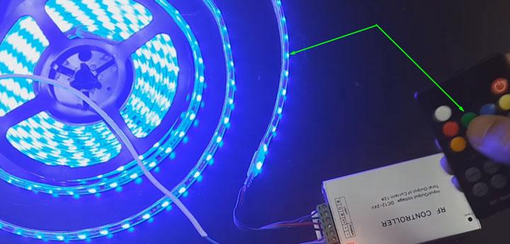 неправильное подключение проводов led ленты к музыкальному контроллеру ошибки
