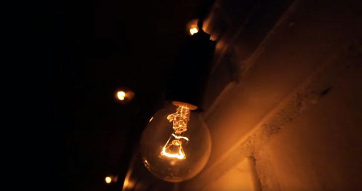 освещение в стиле лофт в коридоре при последовательном подключении ламп накаливания