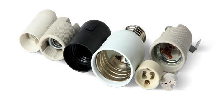 разновидности патронов для ламп