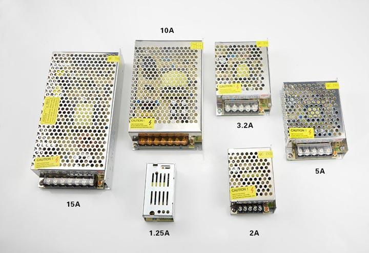 разновидности блоков негерметичных для светодиодной ленты
