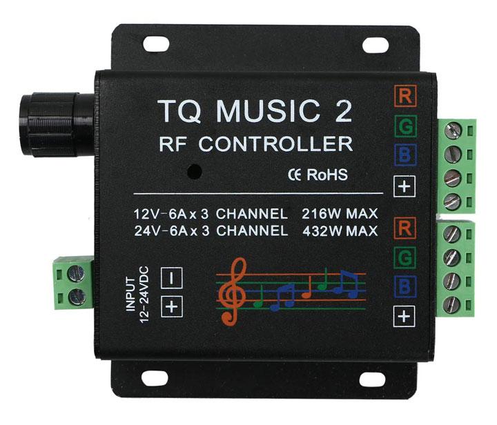 музыкальный контроллер для светодиодной ленты