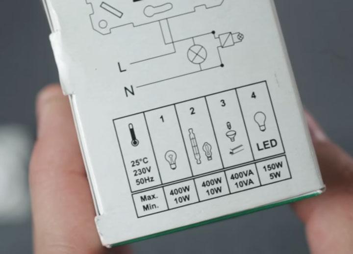 диммеры поддерживающие все типы ламп
