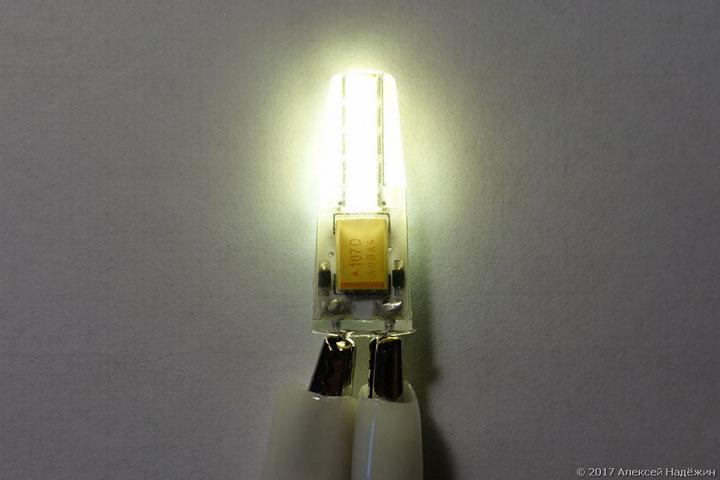 лампочка с CRI больше 80 светит зеленым цветом