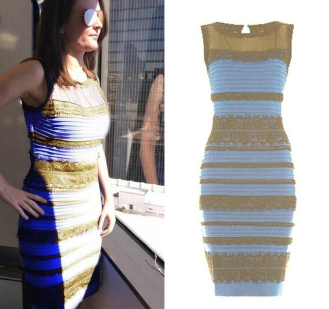 какого цвета платье загадка и индекс Ra или CRI