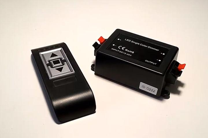 радиоуправляемые диммеры без ручного колесика